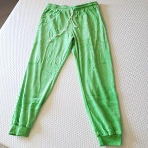 Neon Green Joggers